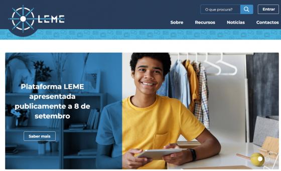Agregador de recursos LEME já disponível online